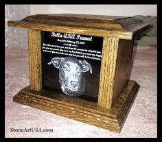 Custom Pet Memorials & more ~ Since 2001 ~ Pet Urns, Cremation Urns, Pet Memorials, Dog Life, Dog Pictures, Granite, Effort, Grateful, Pup