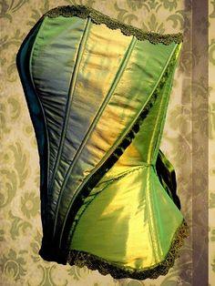 green corset love.