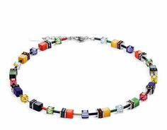 Coeur De Lion Multi-Coloured Necklace | eternity