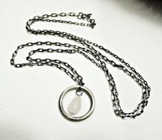 KSZU- Silver Ring Necklace [pr925] Ring Necklace, Silver Rings, Personalized Items, Jewelry, Jewlery, Jewerly, Schmuck, Jewels, Jewelery