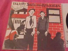 Elliott Smith and Pete Krebs Shytowm 45 RPM rcord