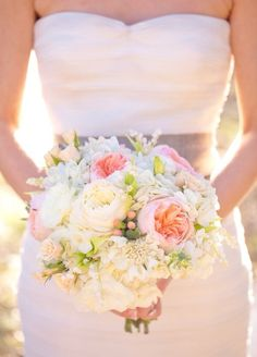 Love this Soft and Romantic bouquet
