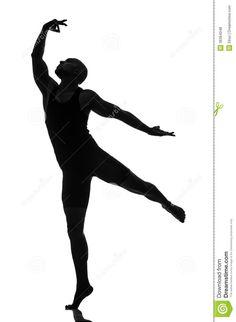 silhouette-male-dancer-isolated-white-36364048.jpg (951×1300)