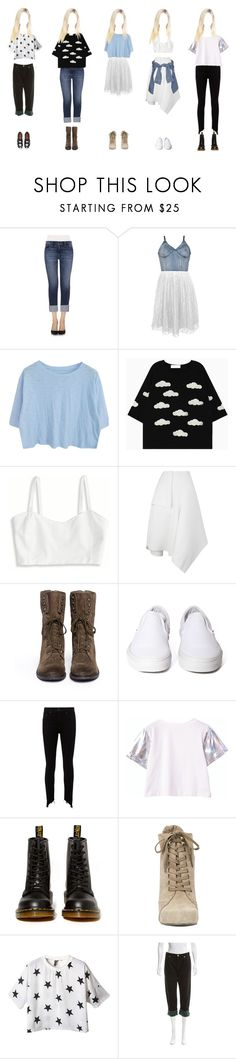 """""""my oc would wear that #1"""" by anekochan on Polyvore featuring Joe's, Motel, American Eagle Outfitters, J.W. Anderson, River Island, Sam Edelman, Vans, rag & bone, Dr. Martens and Nine West"""