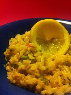 risoto integral de limao siciliano