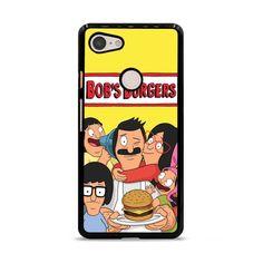 Bobs Burgers Cartoon_ Google Pixel 3 XL Case – Miloscase Cute Phone Cases, Iphone Phone Cases, Iphone 11 Pro Case, Iphone 8 Plus, Burger Phone, Burger Cartoon, Bobs Burgers, Black Rubber, Cartoons