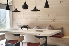 You would think with something as permanent and heavy as the wood you would choose for floors, cabinetry, and furnishings, the finish would be less fickle than other trends. But no, wood finishes are just as cyclical as all other trends in fashion and home decor. Those light blonde woods we remember from the nineties […]  WHStyle #DesignItPinItWinit