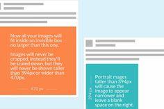 Infográfico | O guia nao oficial para postar imagens com o novo layout do Facebook - Blue Bus