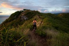 A popular hike up the mountain, where visitors can catch a view from concrete pillboxes that were used for surveillance during World War II. Tyler Hicks for The New York Times