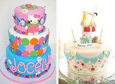 gâteaux à étages extraordinaires