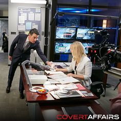 "Behind the Scenes of Season 5's ""Unseen Power of the Picket Fence"" - Covert Affairs"