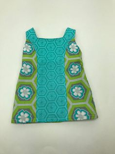18 18 inch doll clothes 1960 Good vibrations dress in