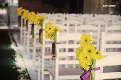 Decoração amarela - O seu casamento vibrante e na moda (18/10/2012) - Cuiabá e Região - Artigos e Dicas - SeuEvento.Net