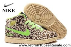 Wholesale Discount Fluff Leopard Green Air Jordan 1 (I) Your Best Choice