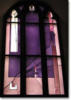Frankfurt - modern stained glass
