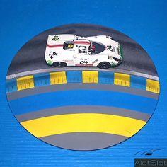 "Porsche in diorama ""Track Curve_Le Mans"". Le Mans, Diorama, Slot Cars, 4 H, Scale Models, Dream Cars, Porsche, Classic Cars, Track"