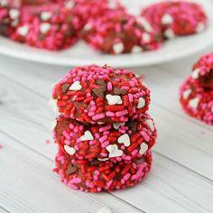 Red Velvet Cookies for Valentine's Day