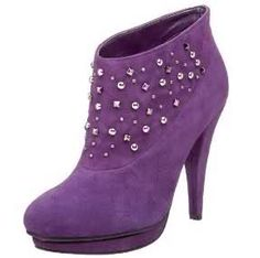 Purple suede diamante boots/ can you say cute!!!!