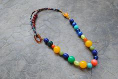 Hey, I found this really awesome Etsy listing at https://www.etsy.com/listing/265271534/liberty-string-necklace-lucite-beads