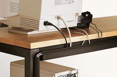 Essentials Cord Management by roomandboard #Cord_Management