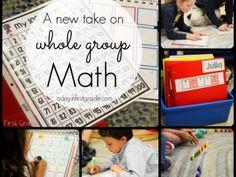 A new take on whole group math