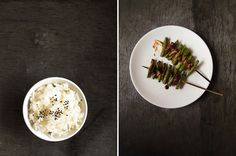 Mummy, I can cook!: Asparagus and Chicken Skin Yakitori