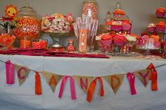 Candy table for a party!