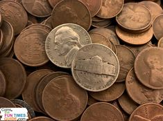 1956 Nickel Value Guide - All 1956 nickels are worth more than face value -- some are worth $9,000! Find out how much your 1956 nickel is worth here.