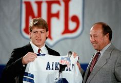 Aikman, #1 pick ... Could use another Troy about now.