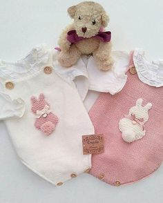 Baby Clothing Set: Romper, Collar, Bonnet And Booties Get the look: This complete baby clothing set includes- Romper With Crochet Bodice Ruffle Col