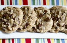 """""""The Perfect Chocolate Chip Cookie"""" -- hmm. With a name like that, I'm going to have to make them."""