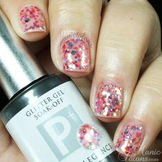 Light Elegance P+ Glitter Gel Gumdrop