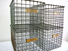 The more wire baskets the better!
