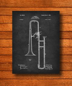 Hey, I found this really awesome Etsy listing at https://www.etsy.com/listing/210225085/retro-1902-slide-trombone-vintage-patent