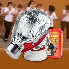 Fire Safety | Gas Preventing High Quality Self Rescue Respirator Fire Escape Mask