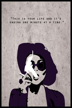 Fight Club Alternative Poster: Marla Singer by DJonesPosters