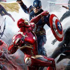 "Have a look at tons of new promo art from Marvel Studios' Captain America: Civil War. Captain America: Civil War"" picks up where ""Avengers: Age of Ultron"" Marvel Dc Comics, Films Marvel, Marvel Heroes, Mcu Marvel, Captain America Civil War, Civil War Heroes, Civil War Art, Iron Man Captain America, Iron Men"
