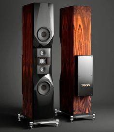 , Listening to music is a fun thing, we feel the sensation of sound are woven into threads with harmo, Pro Audio Speakers, High End Speakers, Audiophile Speakers, Tower Speakers, Sound Speaker, High End Audio, Hifi Audio, Audio Design, Speaker Design