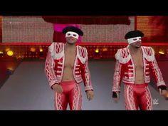 WWE 2K16 (PS4) Blake and Murphy vs Los Matadores (New DLC)