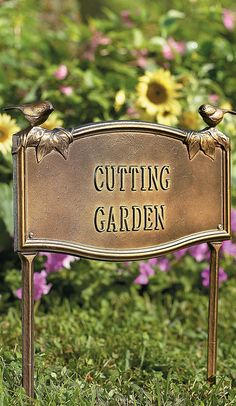 Our Personalized Garden Plaque is made-to-order any way you want. Grace your blooming outdoor space or entryway with your family name, address, or a welcoming message.