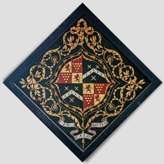 Hatchment related to the Staunton family at Staunton-in-Vale, Nottinghamshire, England Coat Of Arms, Funeral, England, History, Design, Historia, Family Crest, English