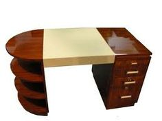 Art Deco desk.
