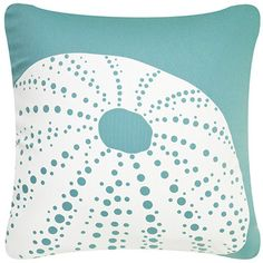 Urchin Eco Art Pillow Cover