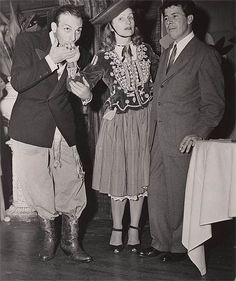 * Larry Lansburgh, Mary Blair and Fred Moore*