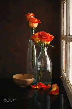 Bowl and Roses by Luiz Laercio on 500px