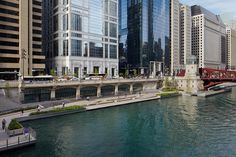 Riverwalk by Ross Barney Architects in Chicago, United States