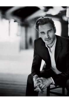 Great portrait of the incredible Mr. Fassbender.