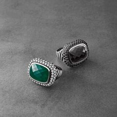 The David Yurman Waverly Collection Collection—bold, sculptural and captivating. Discover the brilliant range of gemstones combinations.