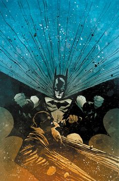 Oniric Realms — artverso:  Christopher Mitten - Batman