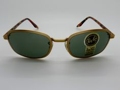 Vintage BL Ray Ban W2849 Sidestreet 1998 Metal Square Arista Sunglasses NOS by VSOx on Etsy